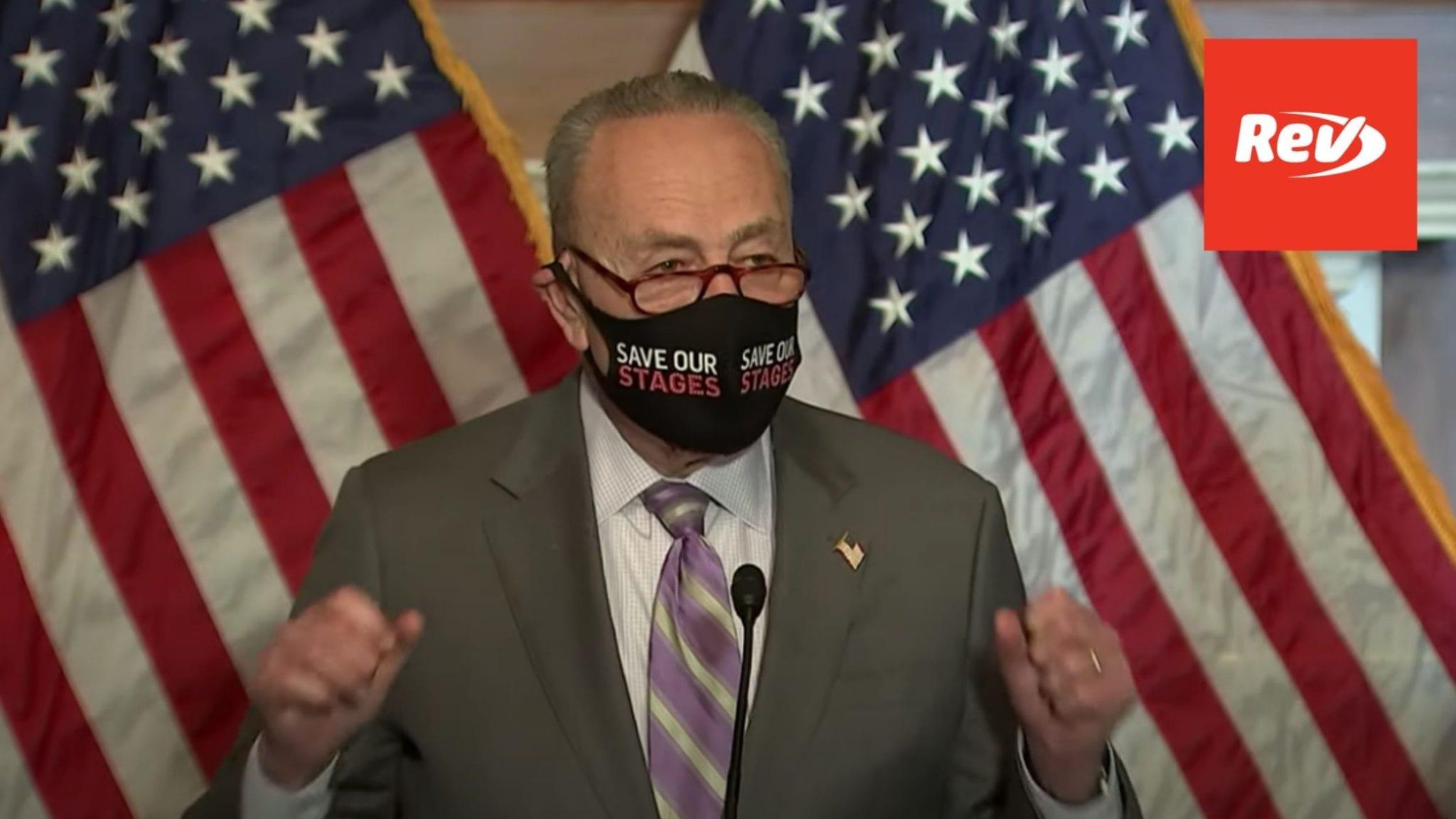 Schumer, Senate Democrats Press Conference on COVID-19 Relief Package Transcript February 9