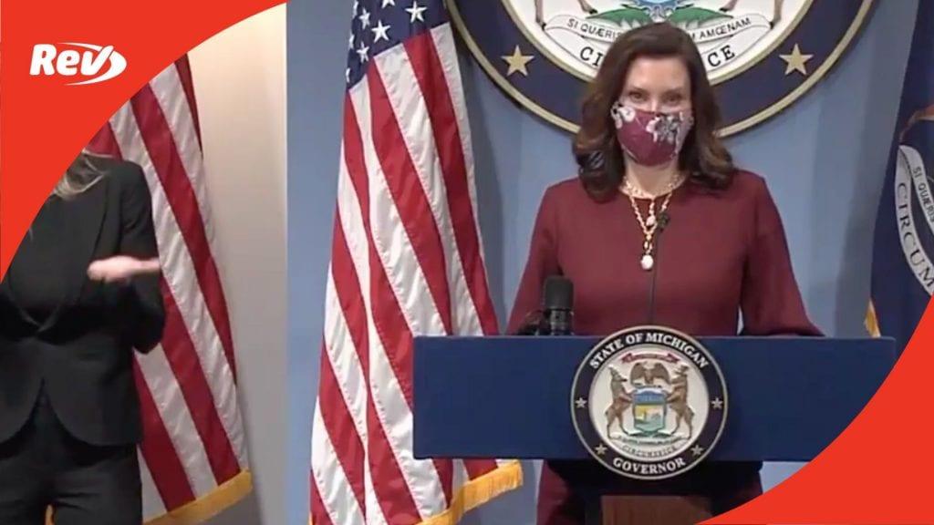 Michigan Governor Gretchen Whitmer COVID-19 Press Conference Transcript February 9