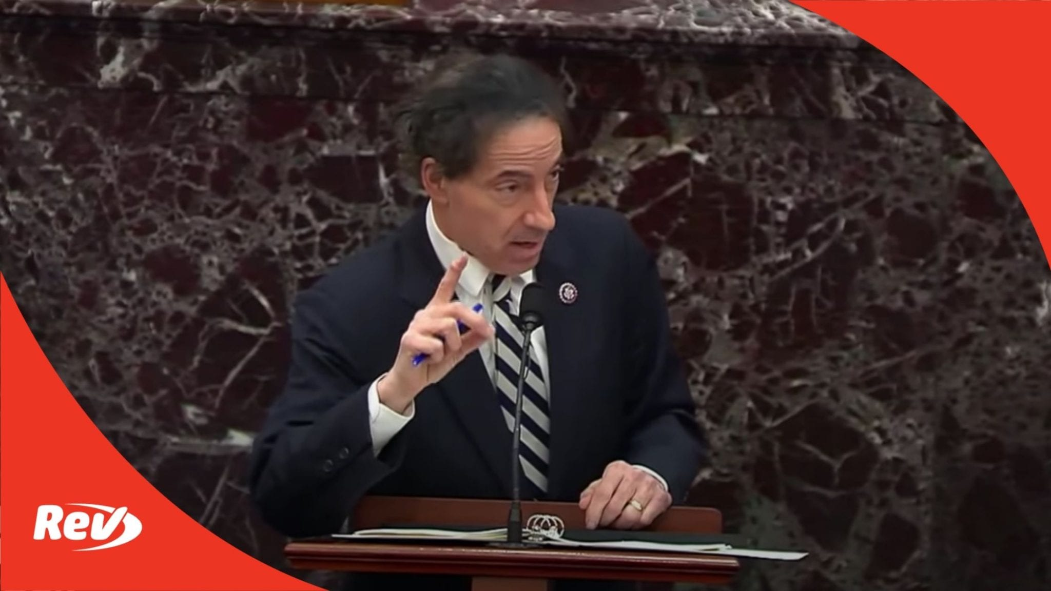 "Rep. Jamie Raskin Speech Trump Impeachment Trial Transcript: ""Trump's Continuing Pattern and Practice of Inciting Violence"""