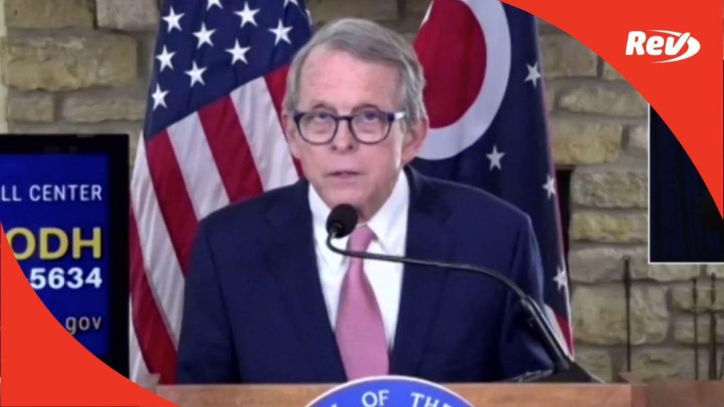 Ohio Gov. Mike DeWine COVID-19 Press Conference Transcript February 11