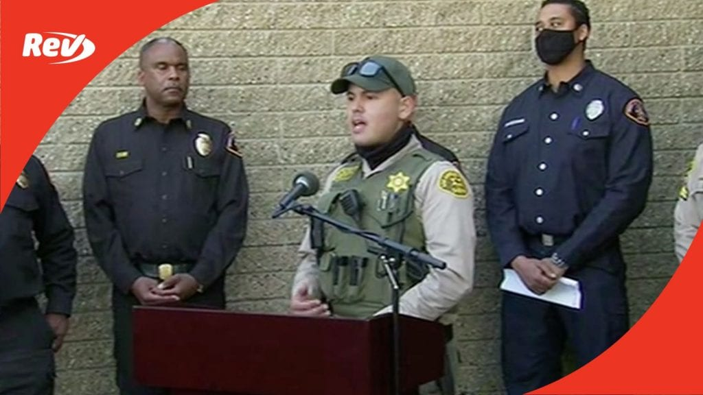 LA County Sheriff Press Conference on Tiger Woods Car Accident Transcript February 23