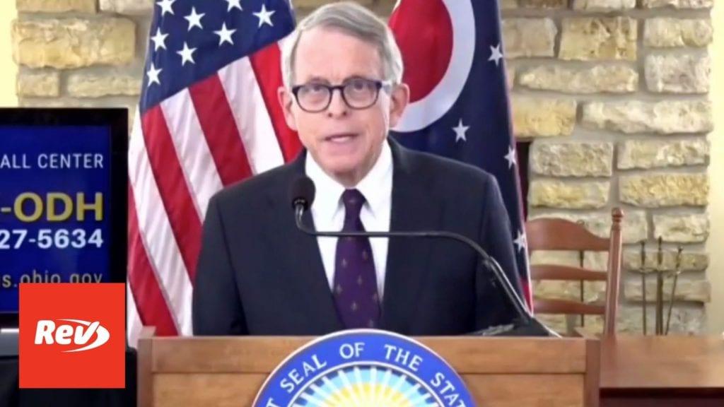 Ohio Gov. Mike DeWine COVID-19 Press Conference Transcript February 16