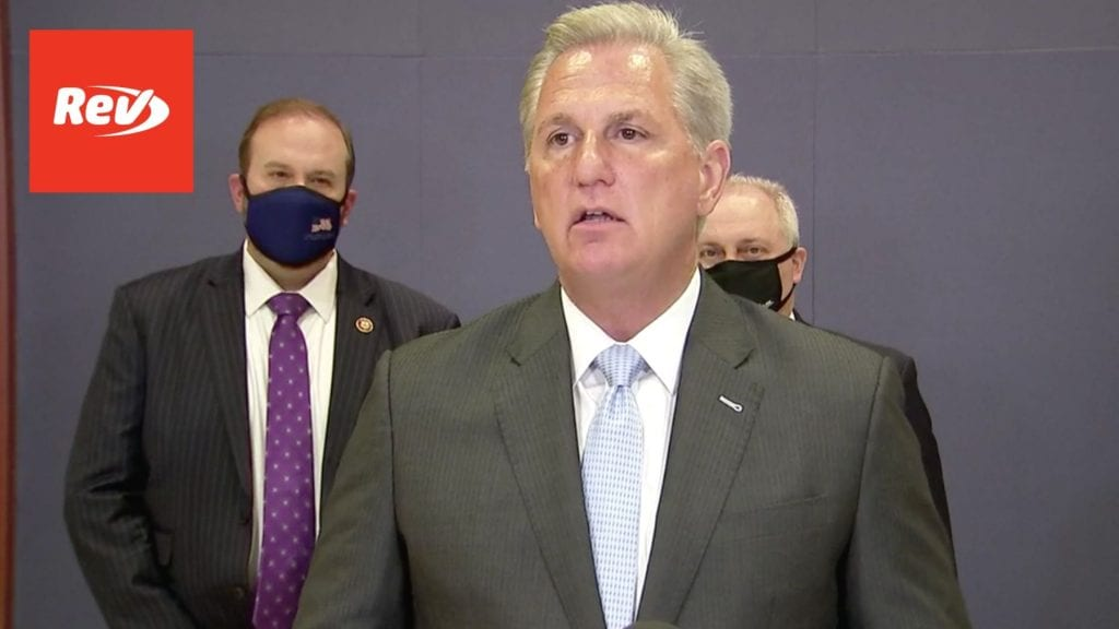 House GOP Leadership Press Conference on COVID-19 Relief Transcript February 24