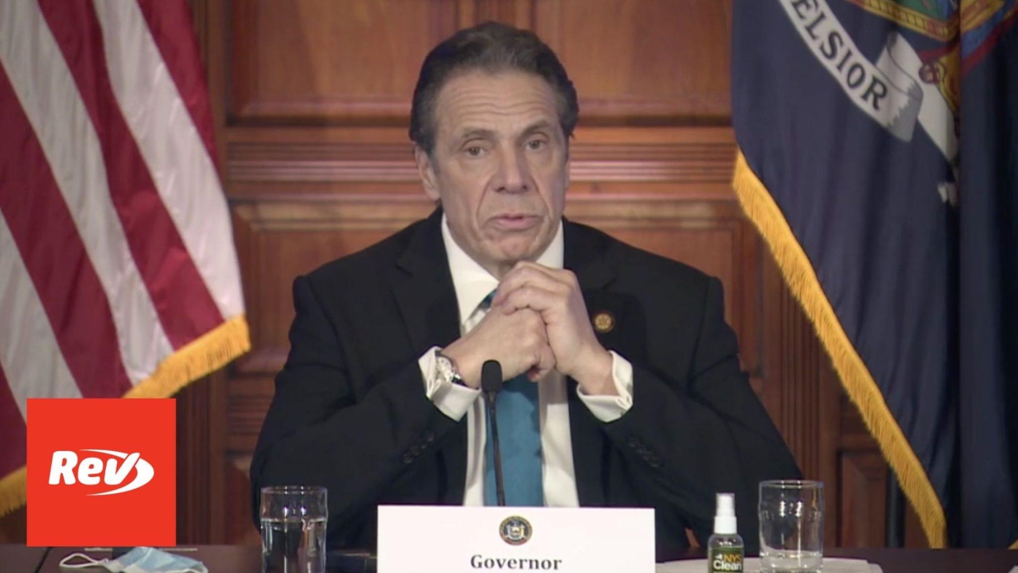 New York Gov. Andrew Cuomo COVID-19 Press Conference Transcript February 19