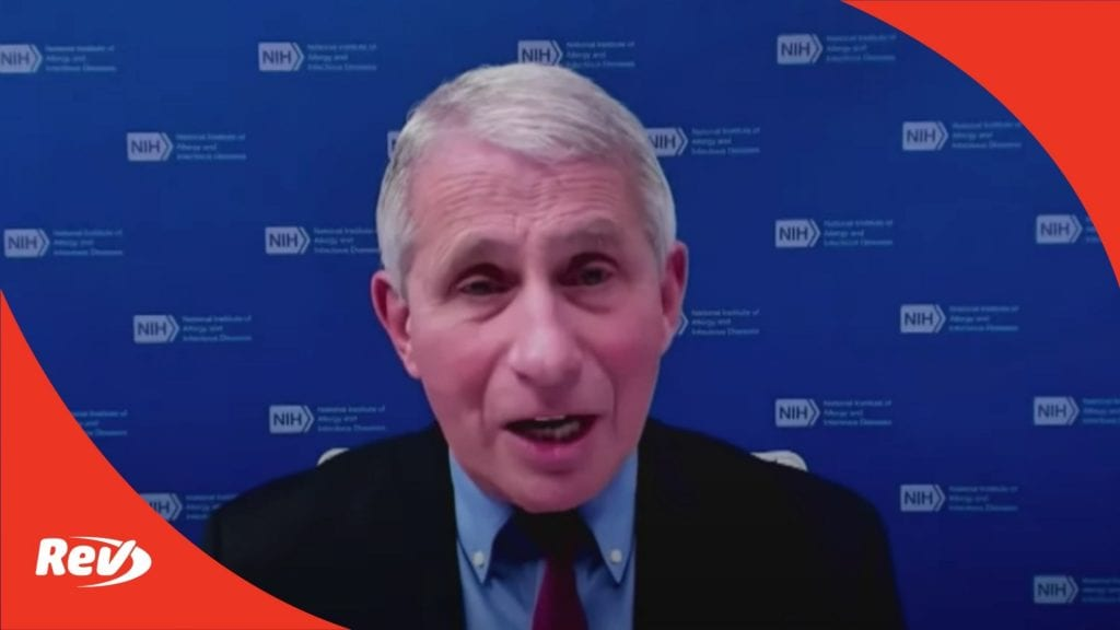 White House COVID-19 Task Force, Dr. Fauci Press Conference Transcript April 23