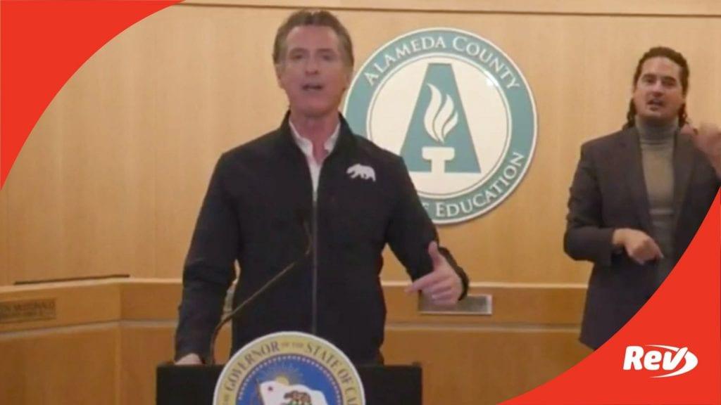 California Gov. Gavin Newsom COVID-19 Press Conference Transcript February 18