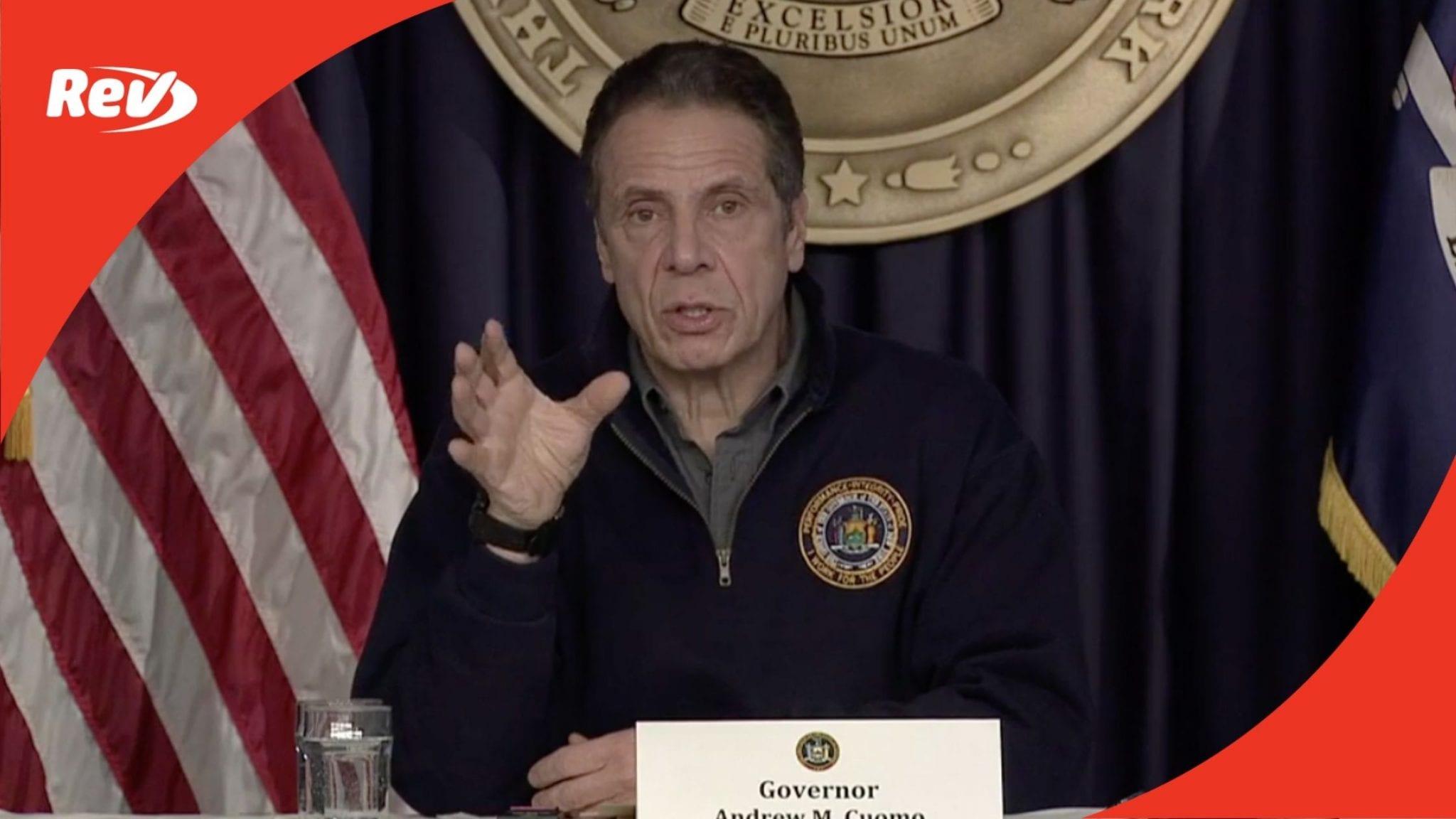 New York Gov. Andrew Cuomo COVID-19 Press Conference Transcript February 1