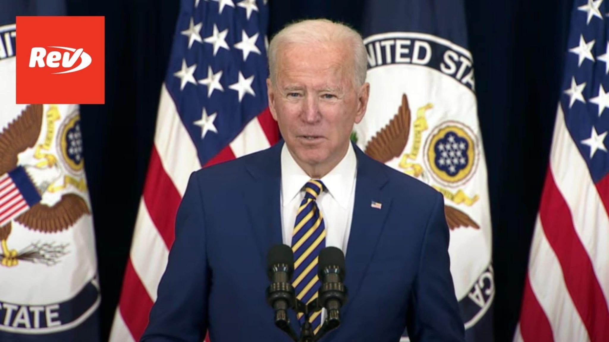 Joe Biden & Kamala Harris Speak at State Department Transcript February 4