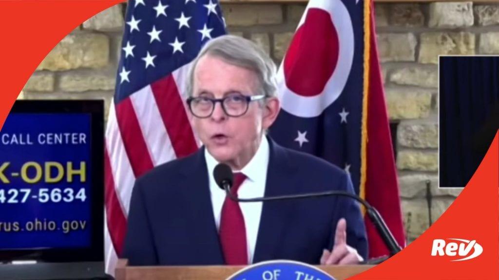 Ohio Gov. Mike DeWine COVID-19 Press Conference Transcript February 2