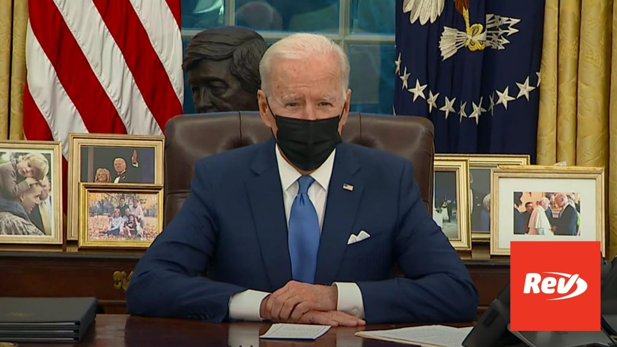 Joe Biden Remarks on Executive Actions on Immigration Transcript February 2
