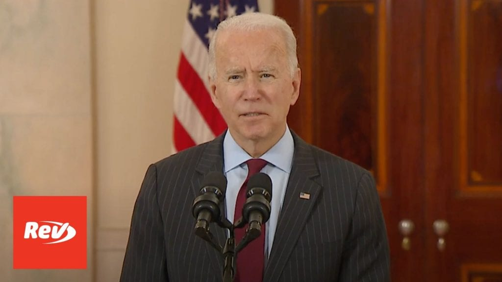 Joe Biden Memorial Speech for 500,000 COVID-19 Deaths Transcript February 22