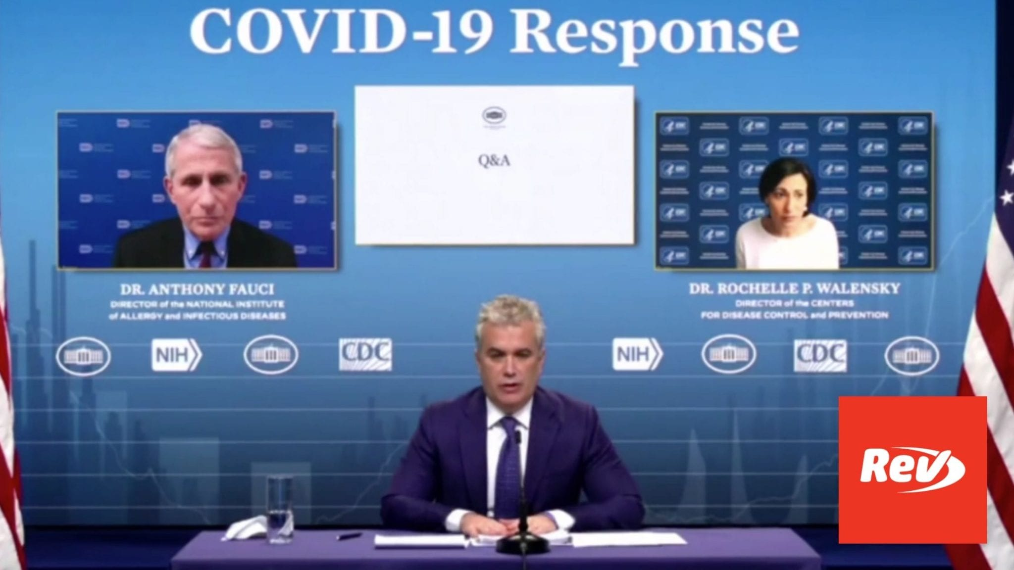 White House COVID-19 Response Team, Dr. Fauci Press Conference Transcript February 3