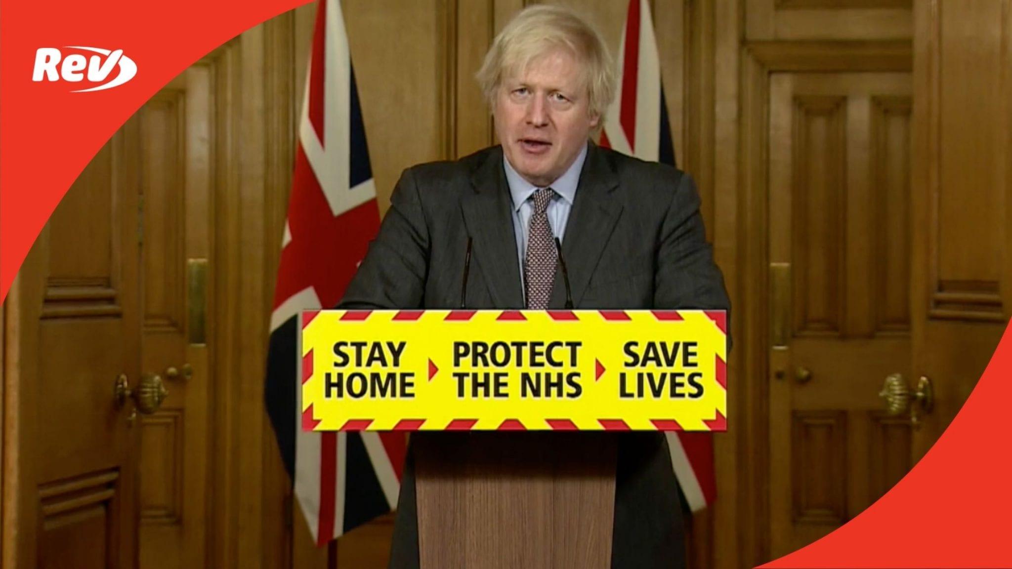 Boris Johnson COVID-19 Press Conference Transcript February 3