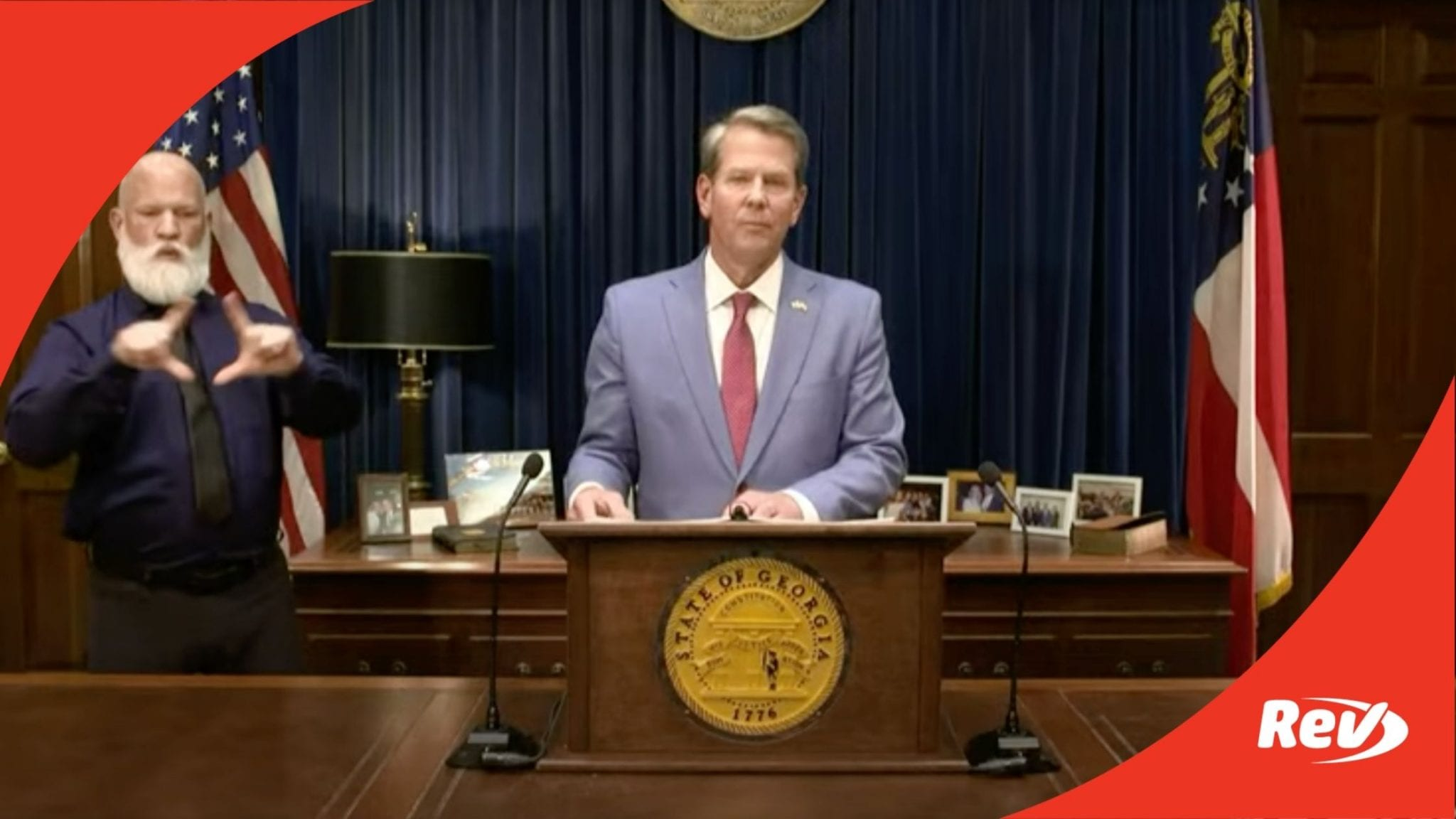 Brian Kemp Speech Georgia Voting Law