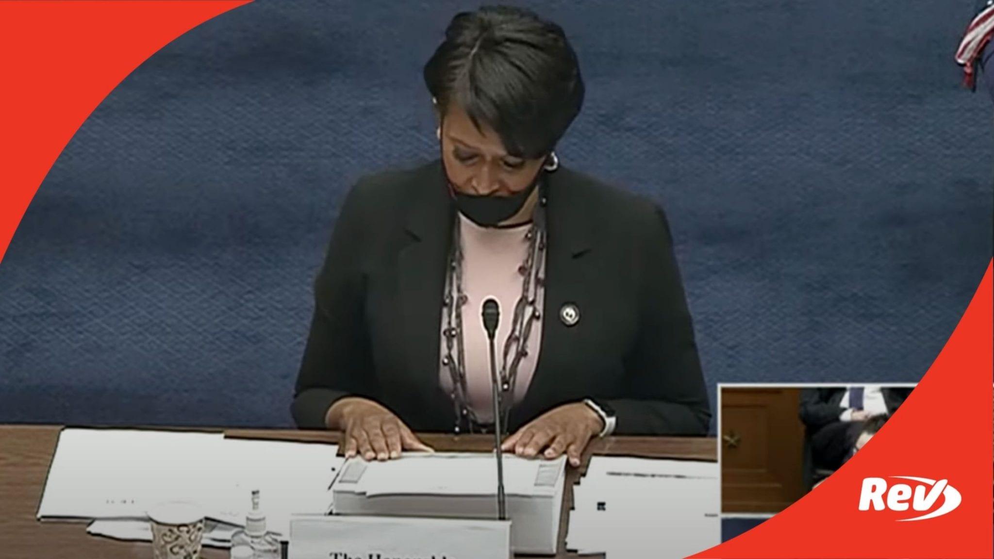 Muriel Bowser Opening Statement D.C. Statehood