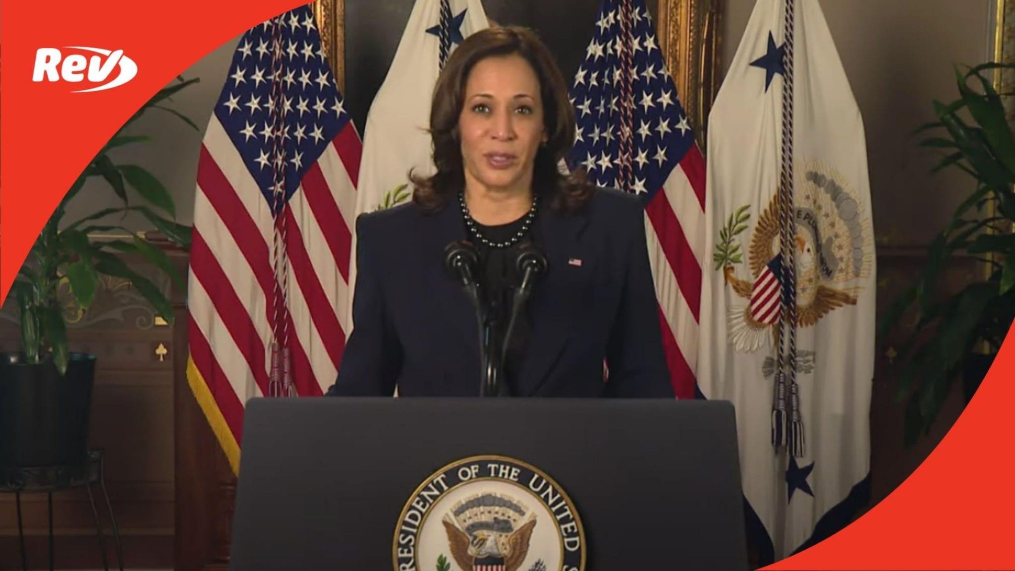 "VP Kamala Harris UN Speech Transcript March 16: ""The Status of Women is the Status of Democracy"""