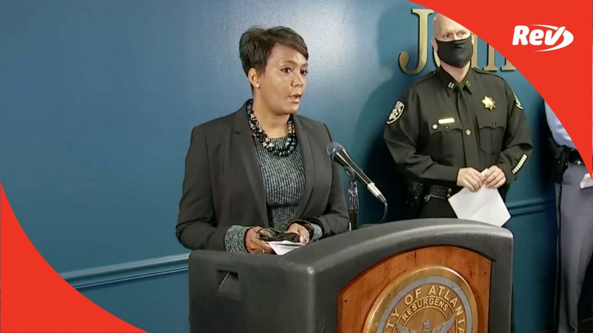 Atlanta-Area Spa Shootings Press Conference Transcript March 17