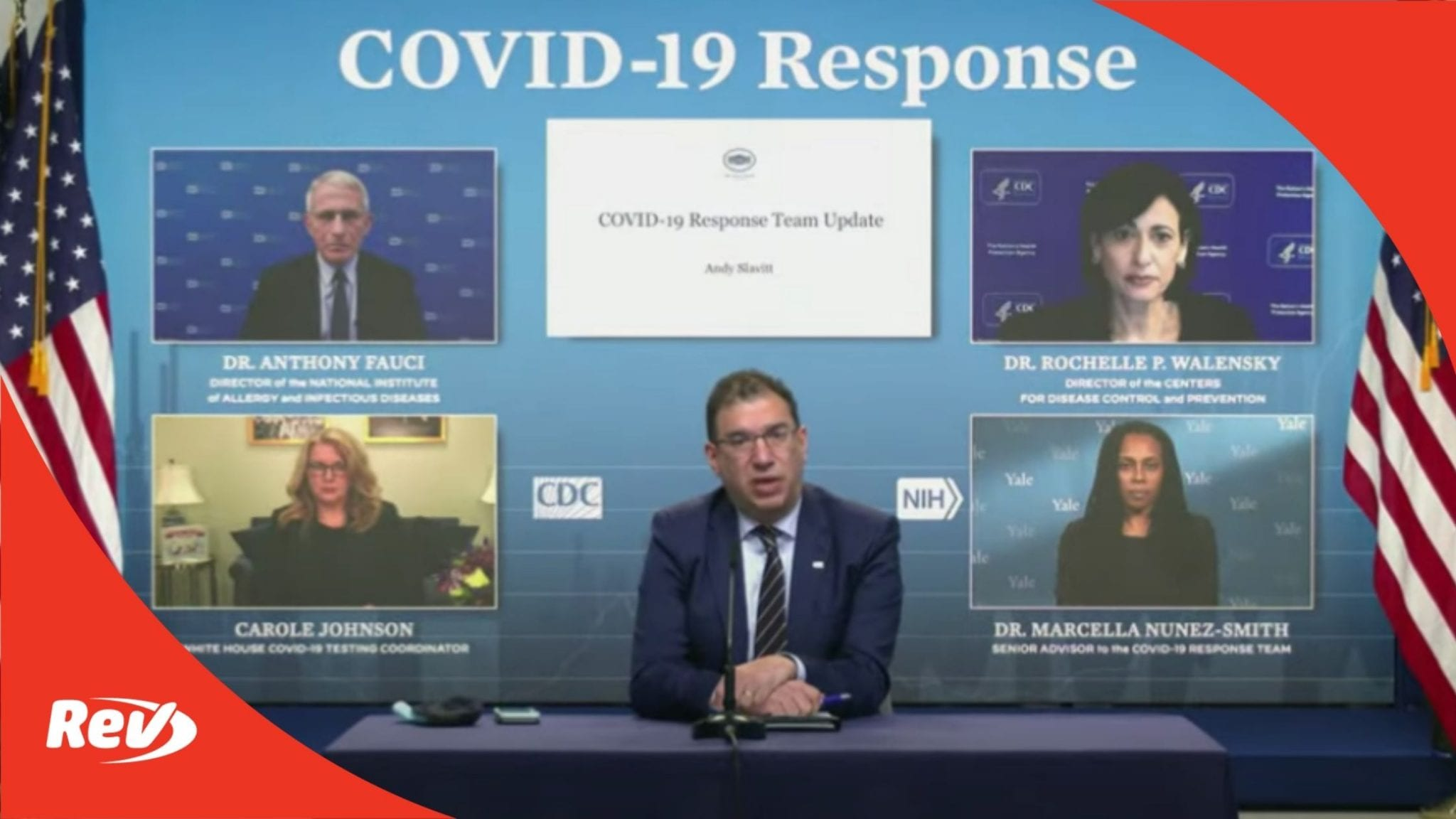 White House COVID-19 Task Force, Dr. Fauci Press Conference Transcript March 17