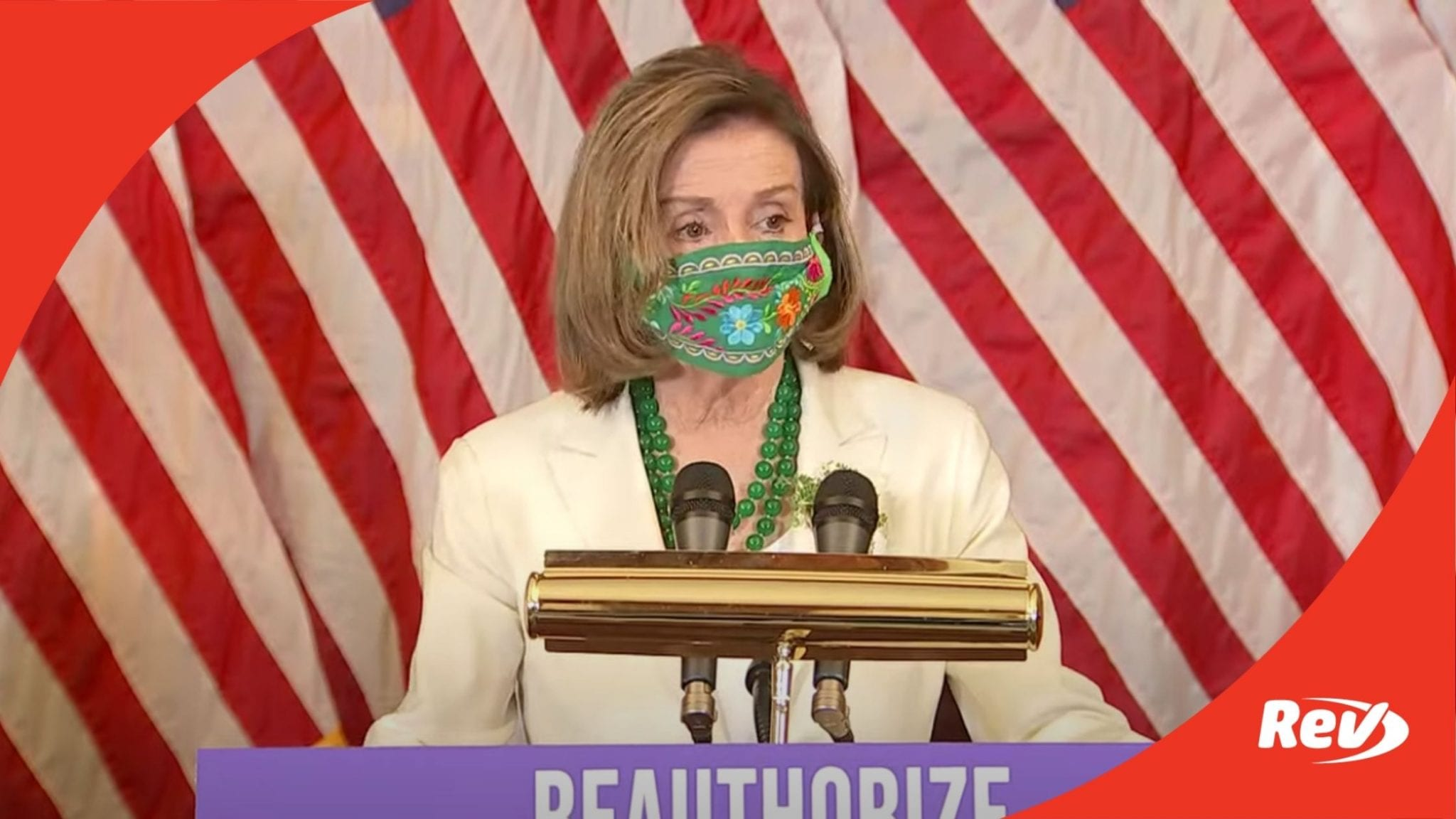 Nancy Pelosi, House Democrats Press Conference on Violence Against Women Act Transcript March 17