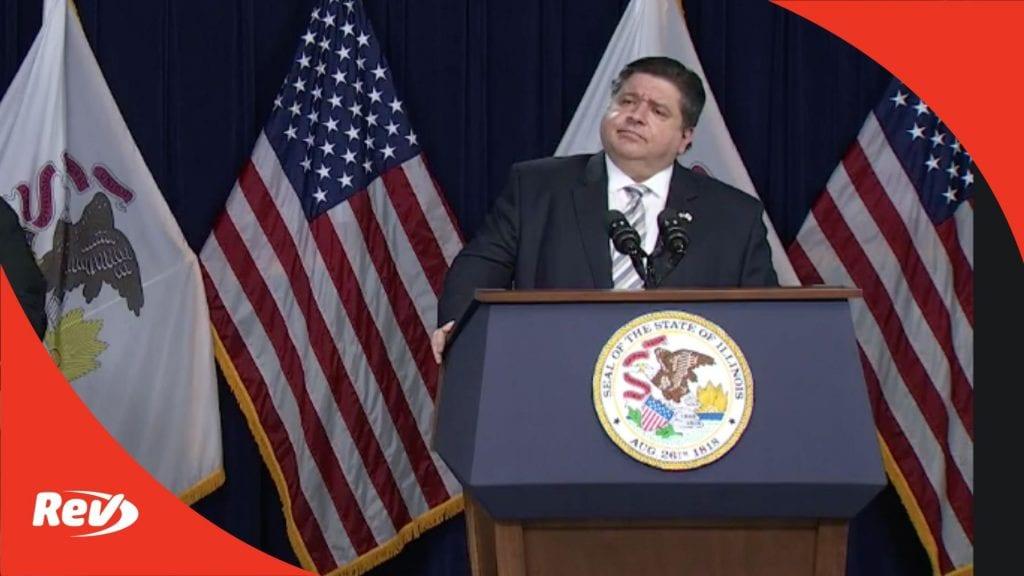 Illinois Gov. JB Pritzker COVID-19 Press Conference Transcript March 18
