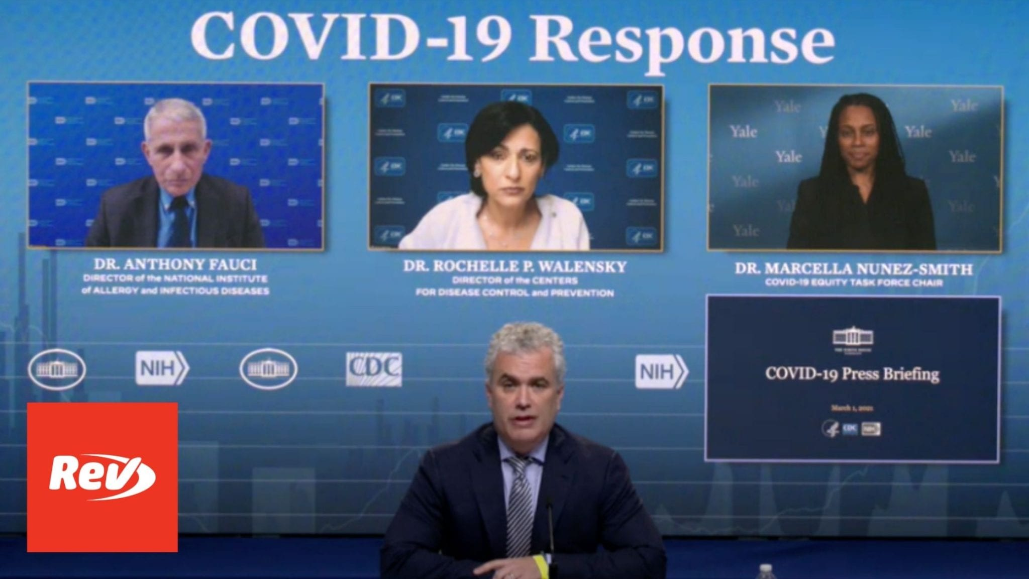 White House COVID-19 Task Force, Dr. Fauci Press Conference Transcript March 1