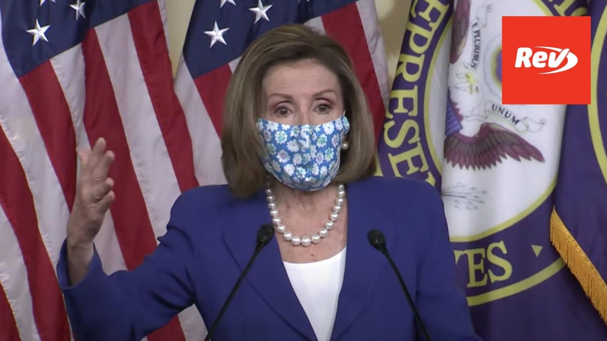House Speaker Nancy Pelosi Weekly Press Conference Transcript March 19