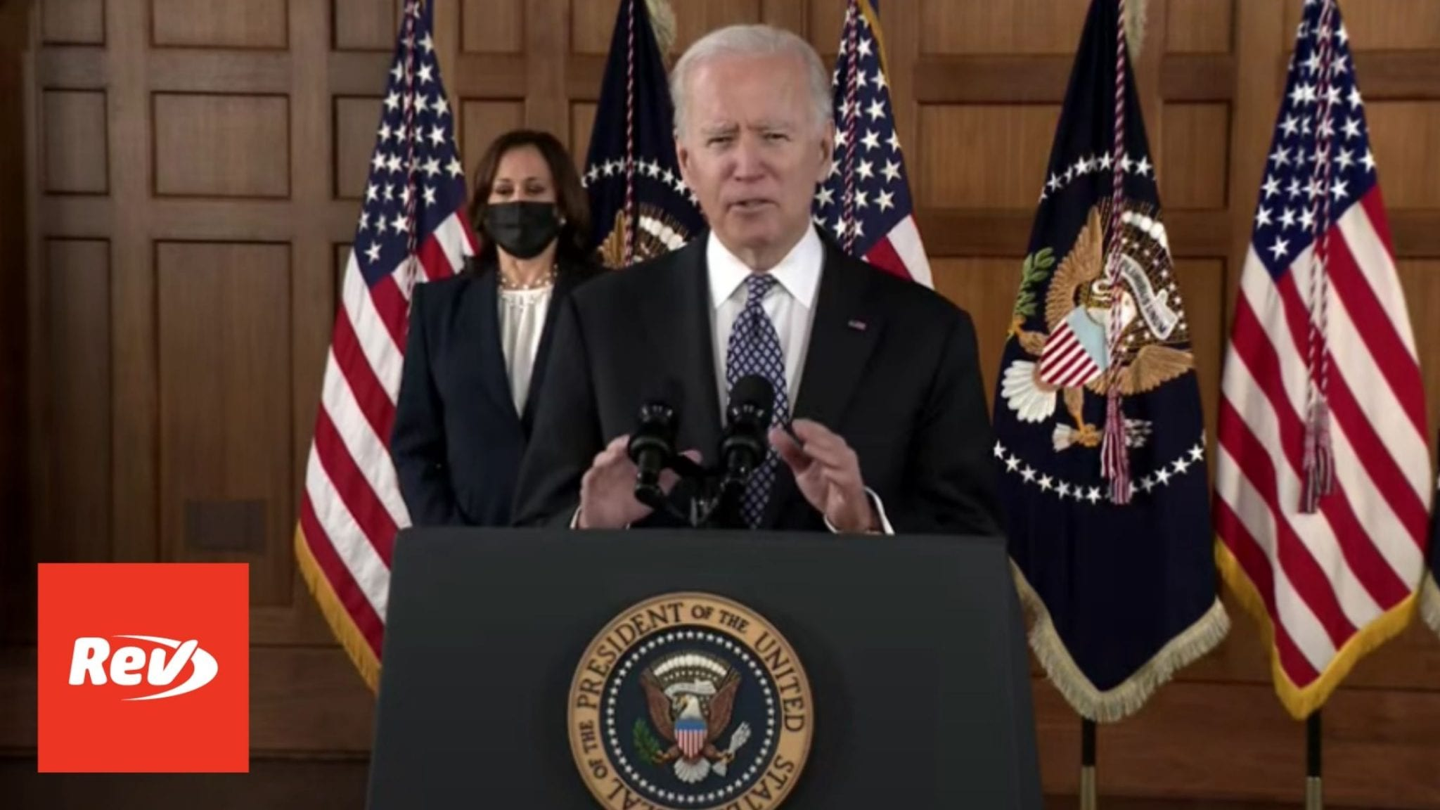 Joe Biden & Kamala Harris Speech on Violence Against AAPI Community at Emory Transcript