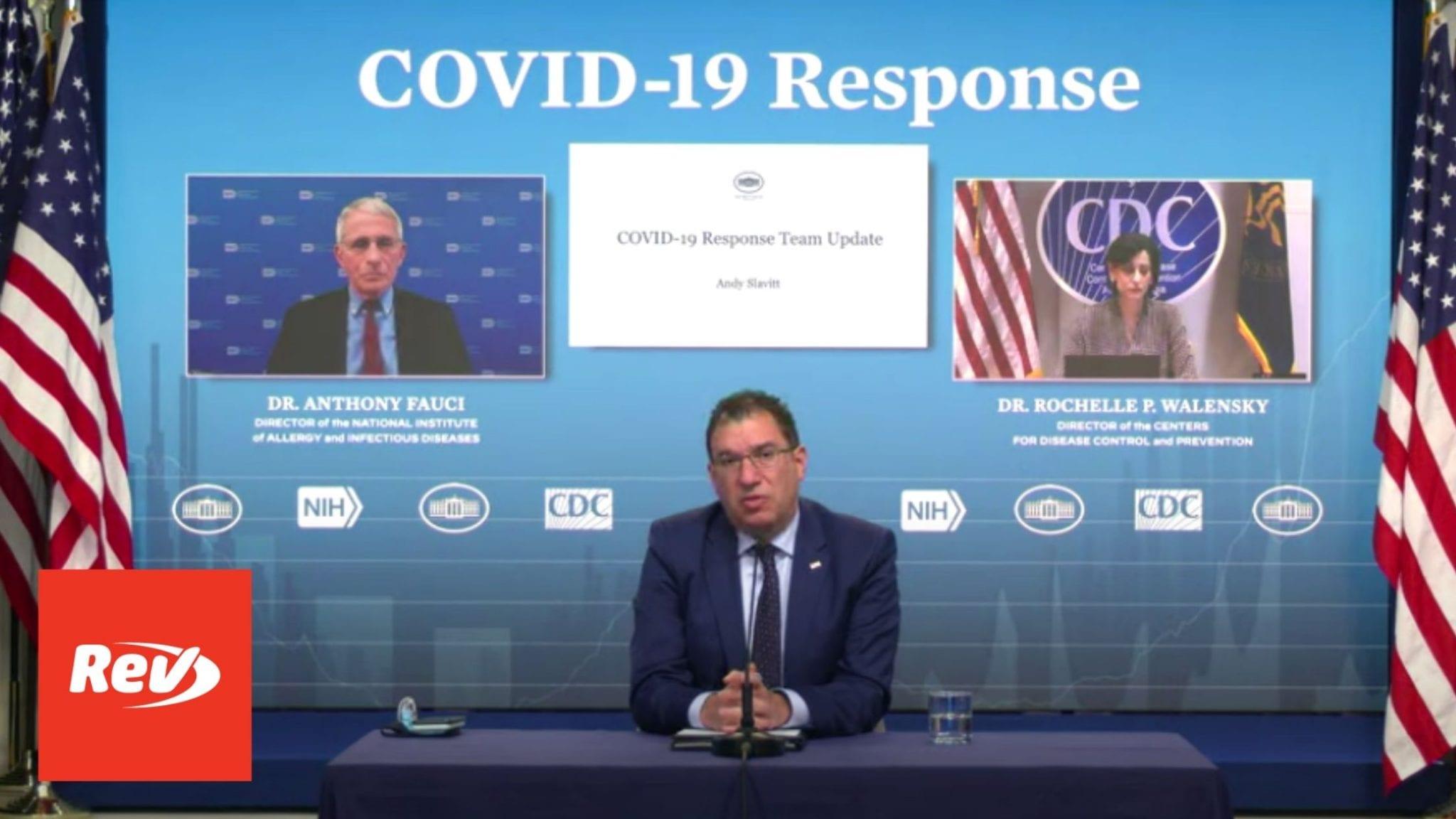 White House COVID-19 Task Force, Dr. Fauci Press Conference Transcript April 2