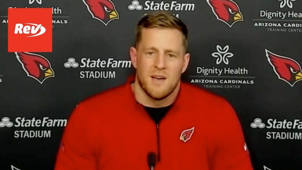 JJ Watt Introductory Press Conference with Arizona Cardinals Transcript March 2