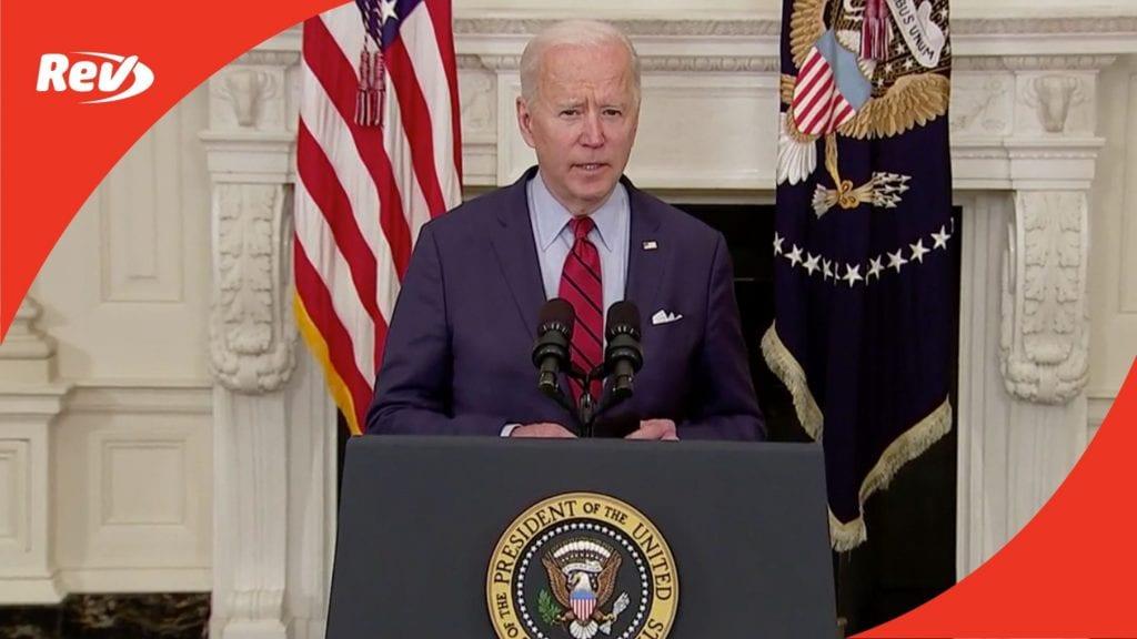 Joe Biden Speech on Boulder, Colorado Mass Shooting Transcript March 23