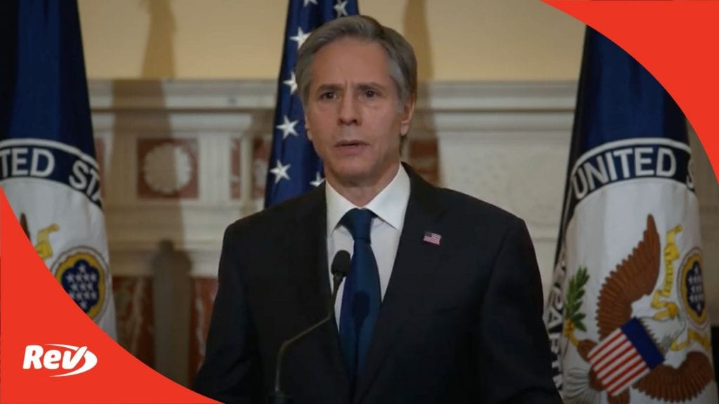 Secretary of State Antony Blinken Speech on Foreign Policy Transcript March 3