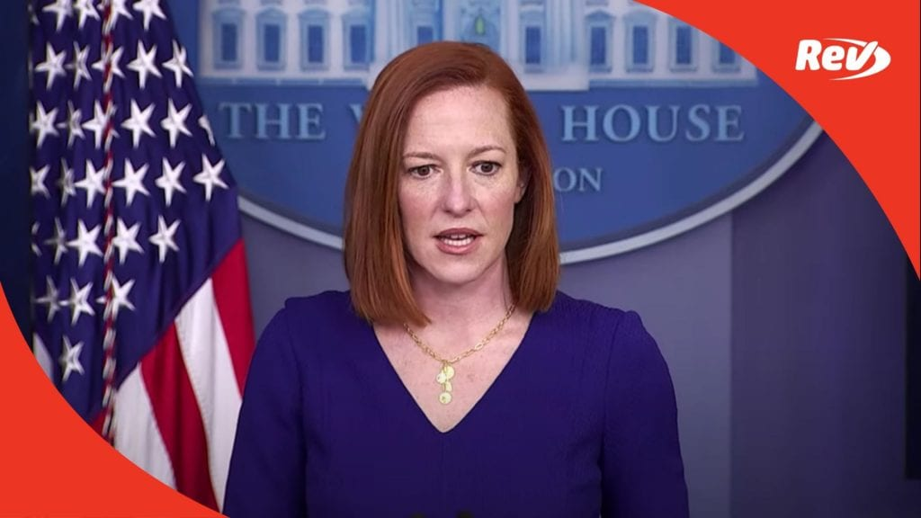 Press Secretary Jen Psaki White House Press Conference Transcript March 3