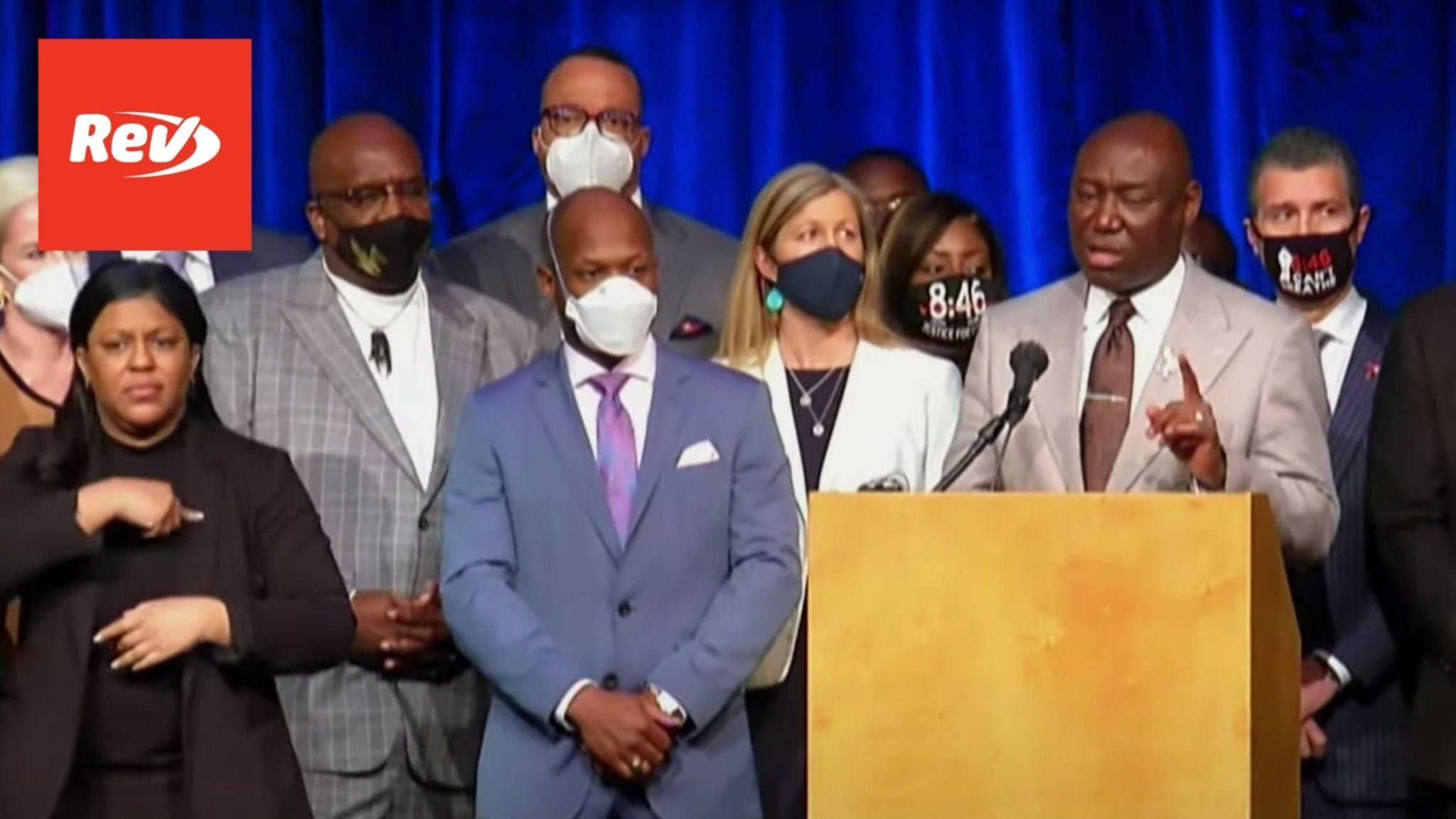 George Floyd Family, Attorney Press Conference Transcript March 12