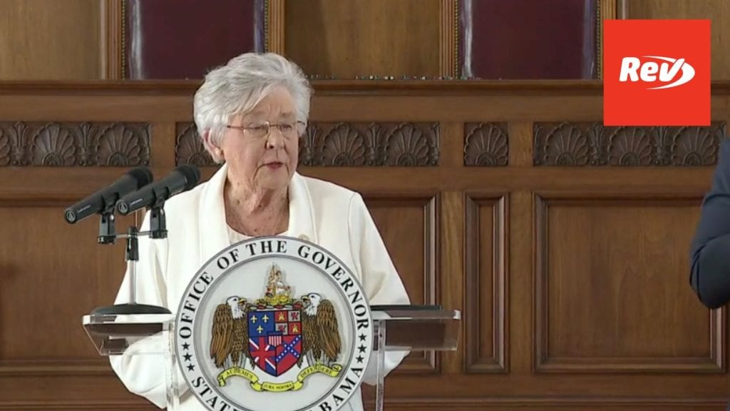Alabama Governor Kay Ivey COVID-19 Press Conference March 4: Mask Mandate Extended Until April 9