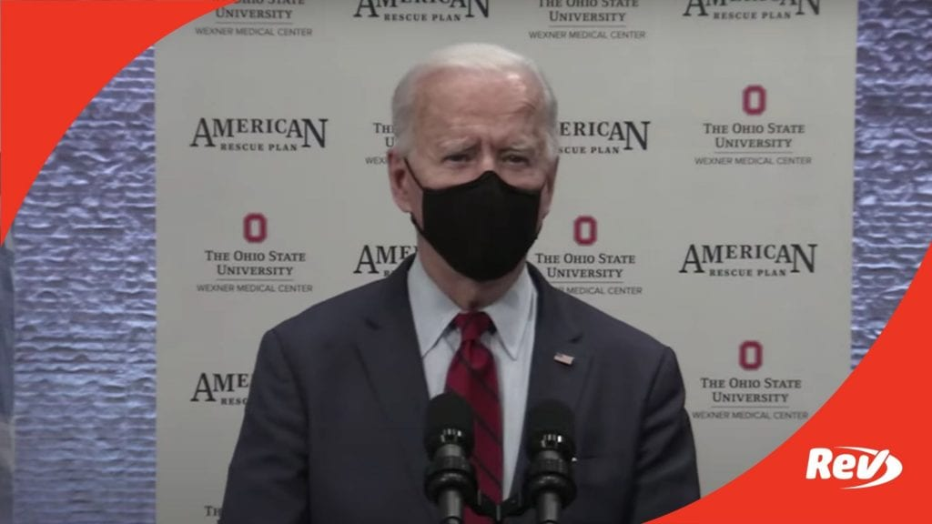 Joe Biden Speech on Affordable Care Act, COVID Relief Columbus, OH Transcript March 23