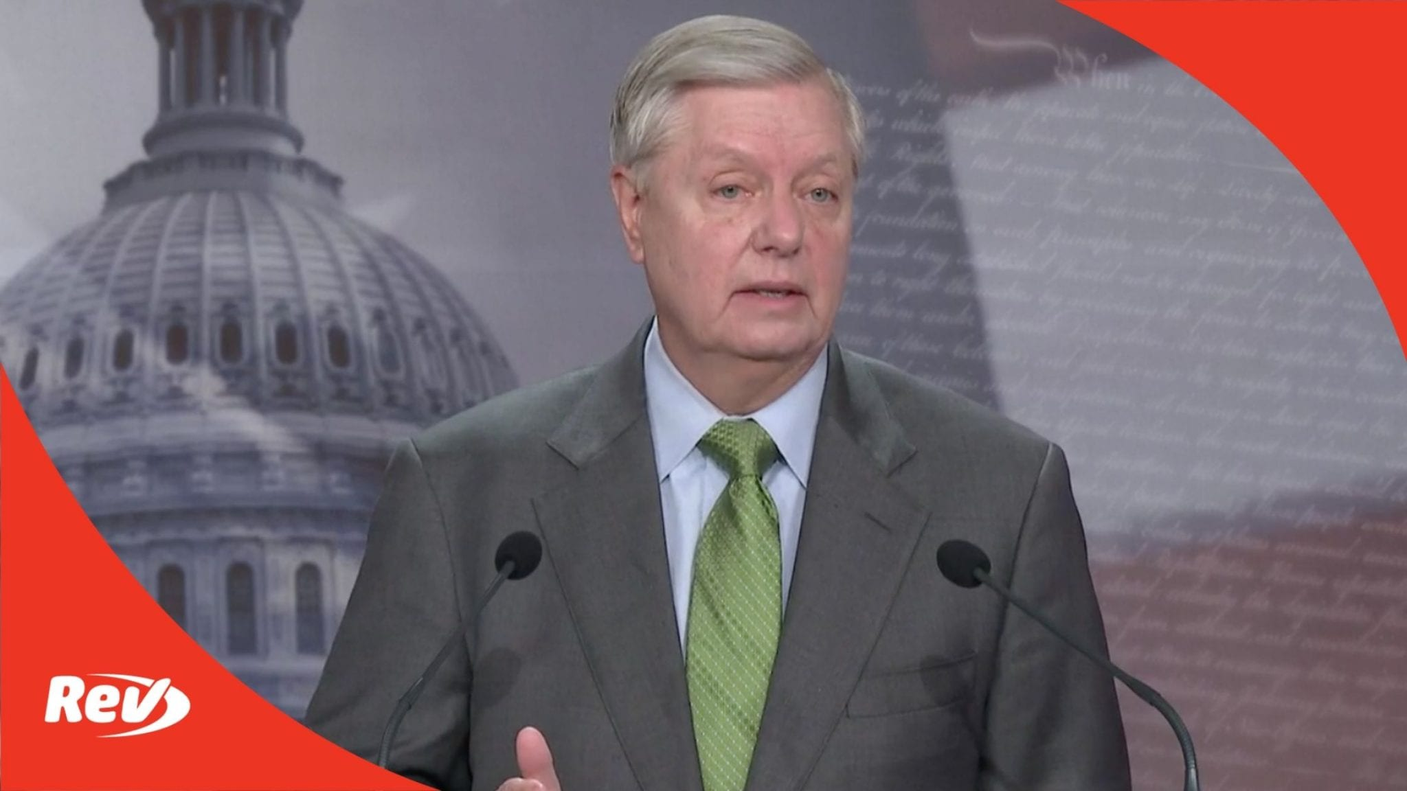 Lindsey Graham Press Conference Transcript: Secure & Protect Act of 2021