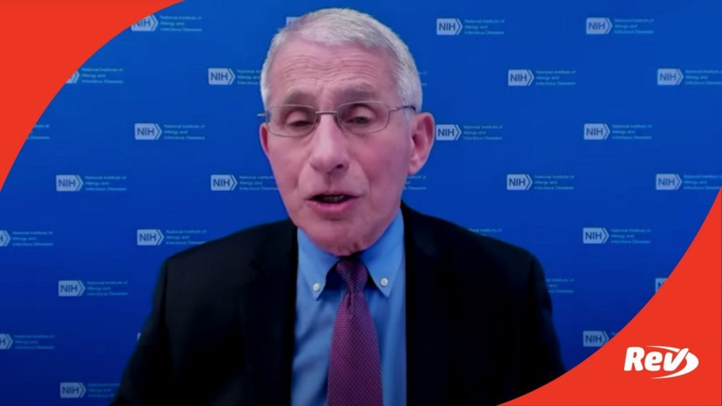 White House COVID-19 Task Force, Dr. Fauci Press Conference Transcript March 5