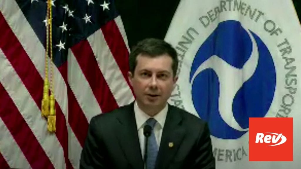 Pete Buttigieg Opening Statement at House Hearing on Transportation Transcript March 25