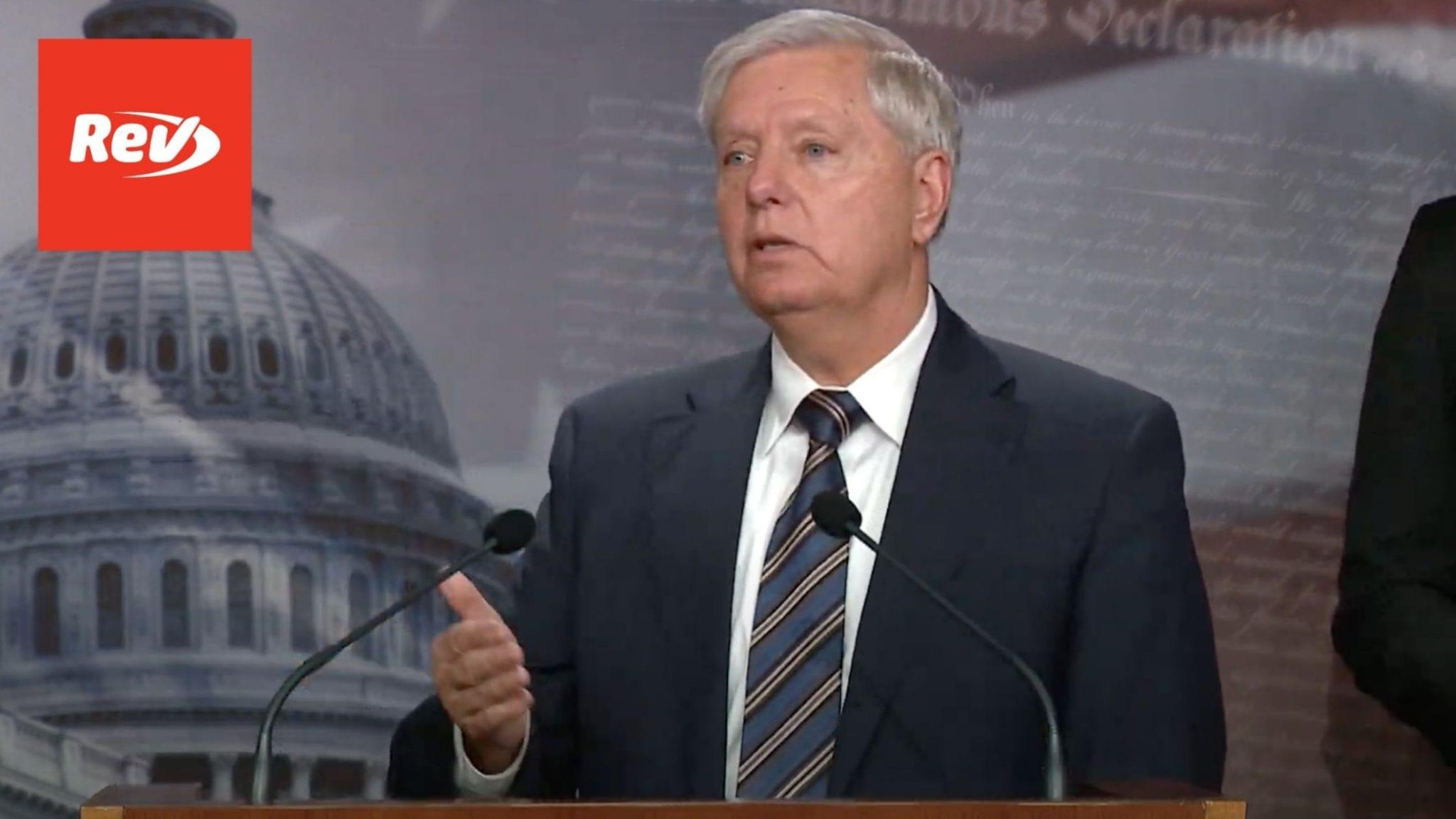 Lindsey Graham, Senate GOP Press Conference on COVID Bill Transcript March 5