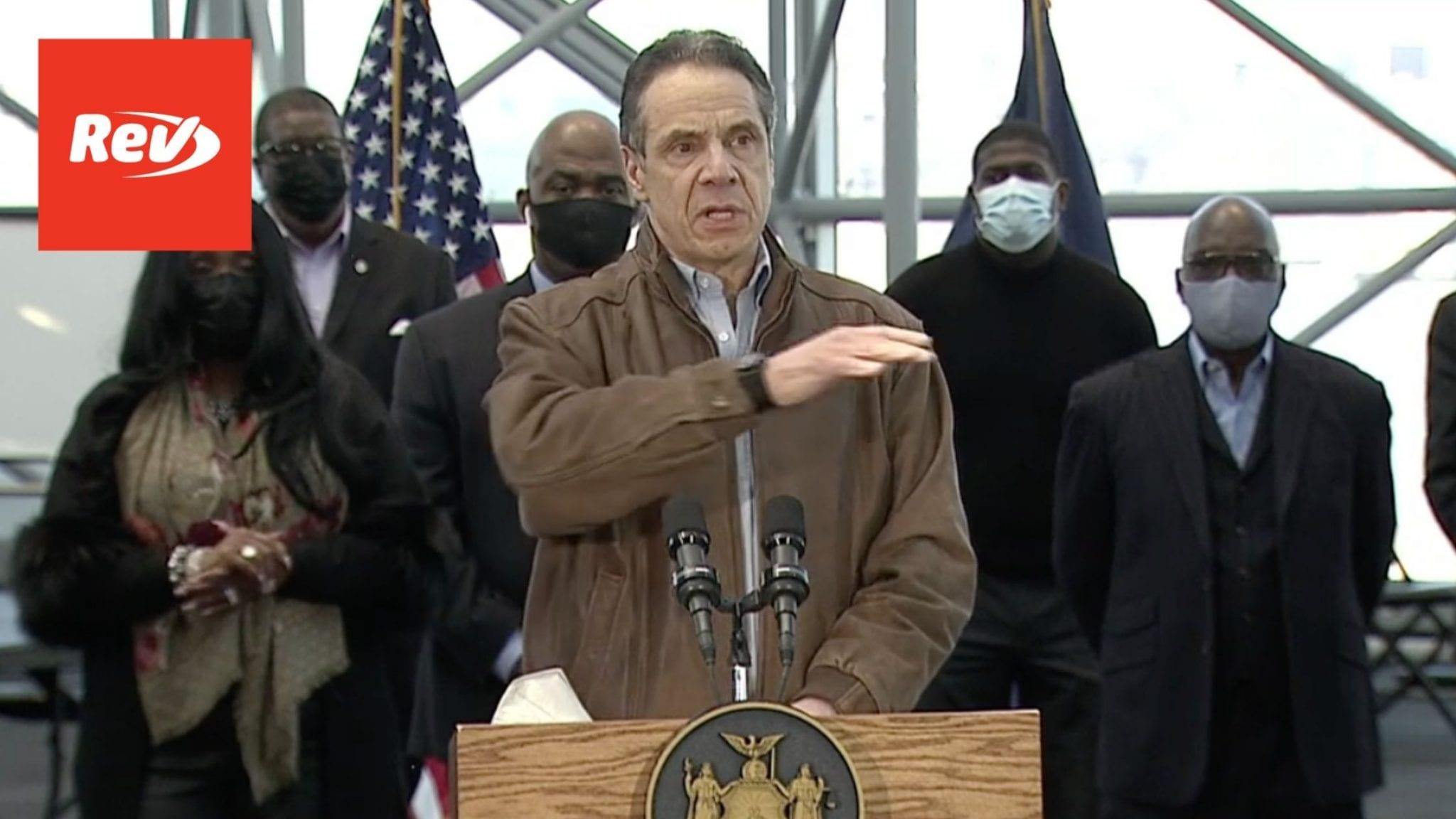 New York Gov. Andrew Cuomo COVID-19 Press Conference Transcript March 8