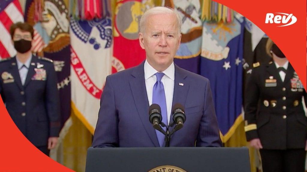 Joe Biden, Kamala Harris International Women's Day Speeches Transcript March 8
