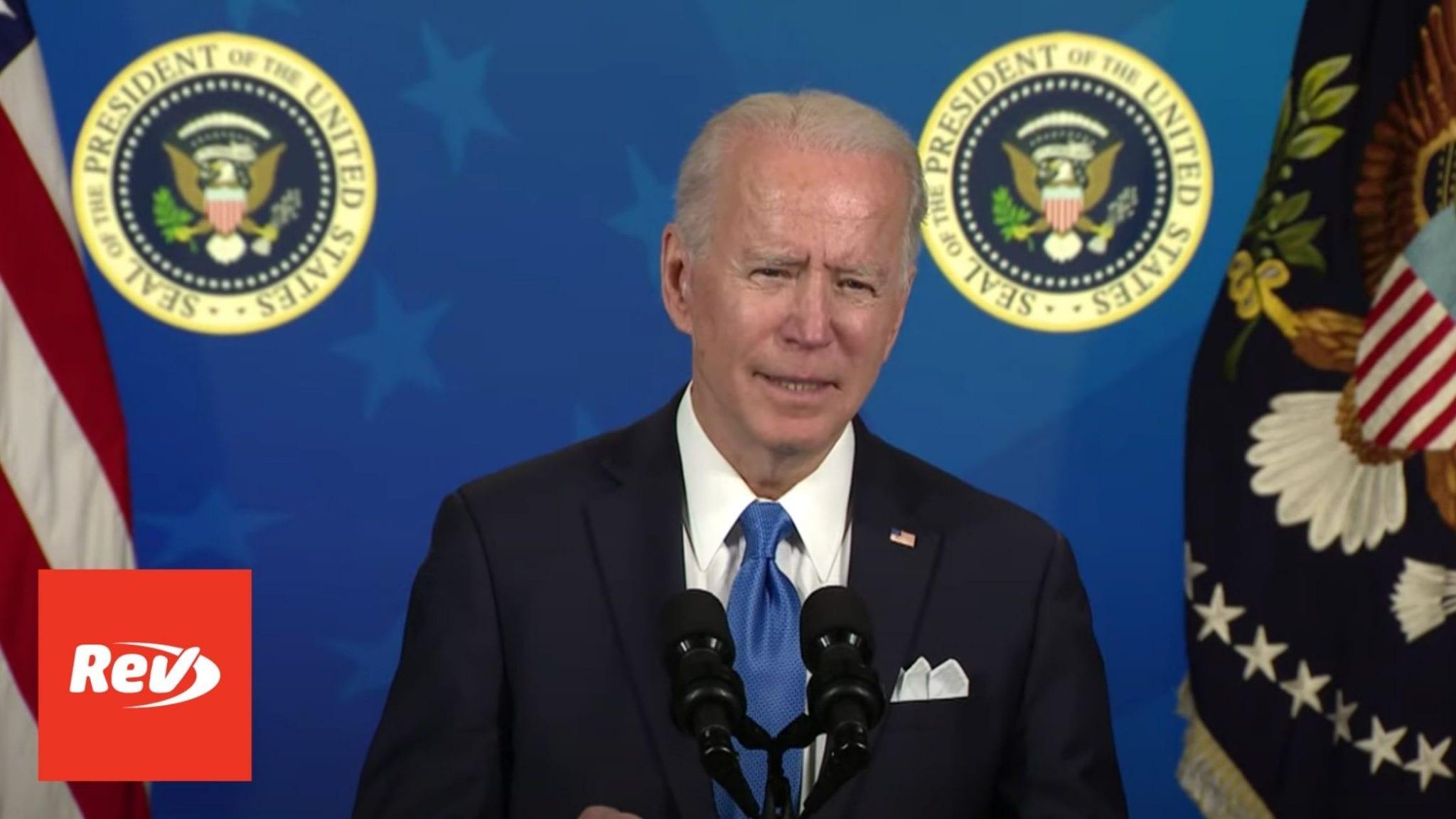 Joe Biden Meeting with Johnson & Johnson, Merck CEOs Speech Transcript March 10