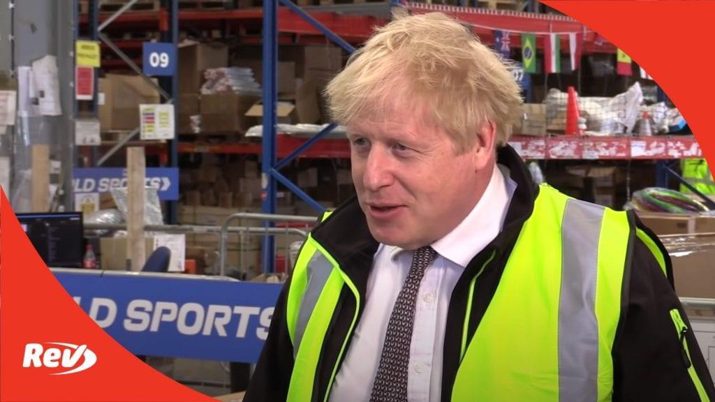 Boris Johnson Interview Third Wave