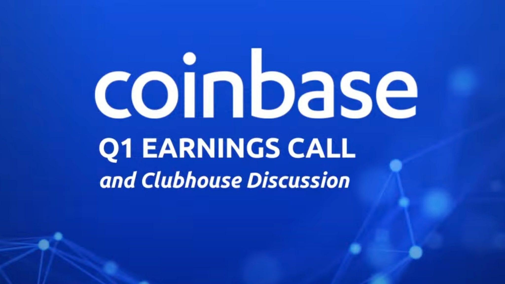 Coinbase Q1 Earnings Call