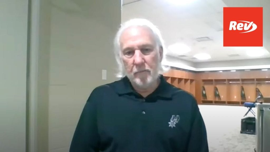 Spurs HC Popovich reacts to Daunte Wright killing