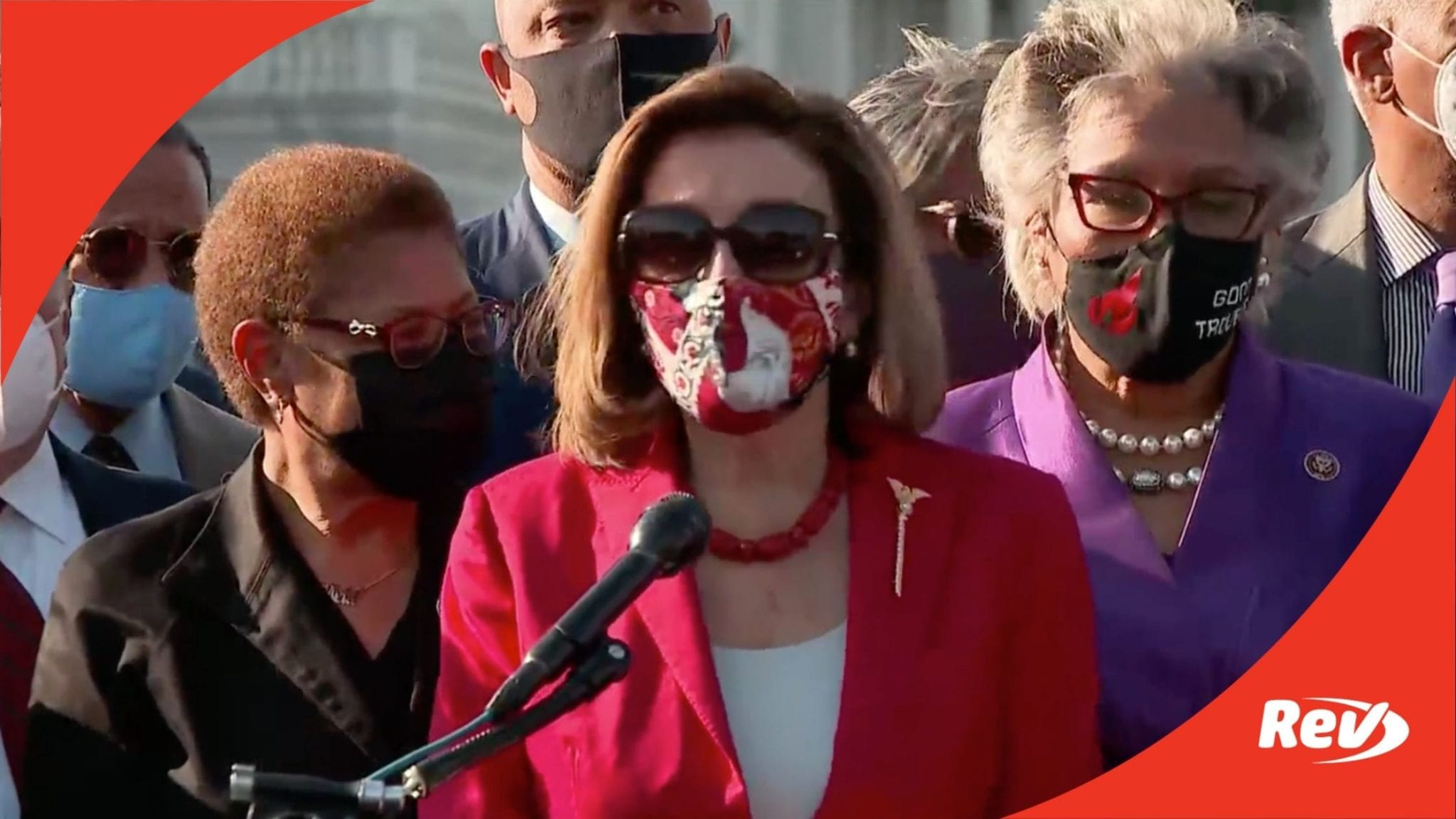 Nancy Pelosi Speech After Derek Chauvin Verdict Transcript April 20