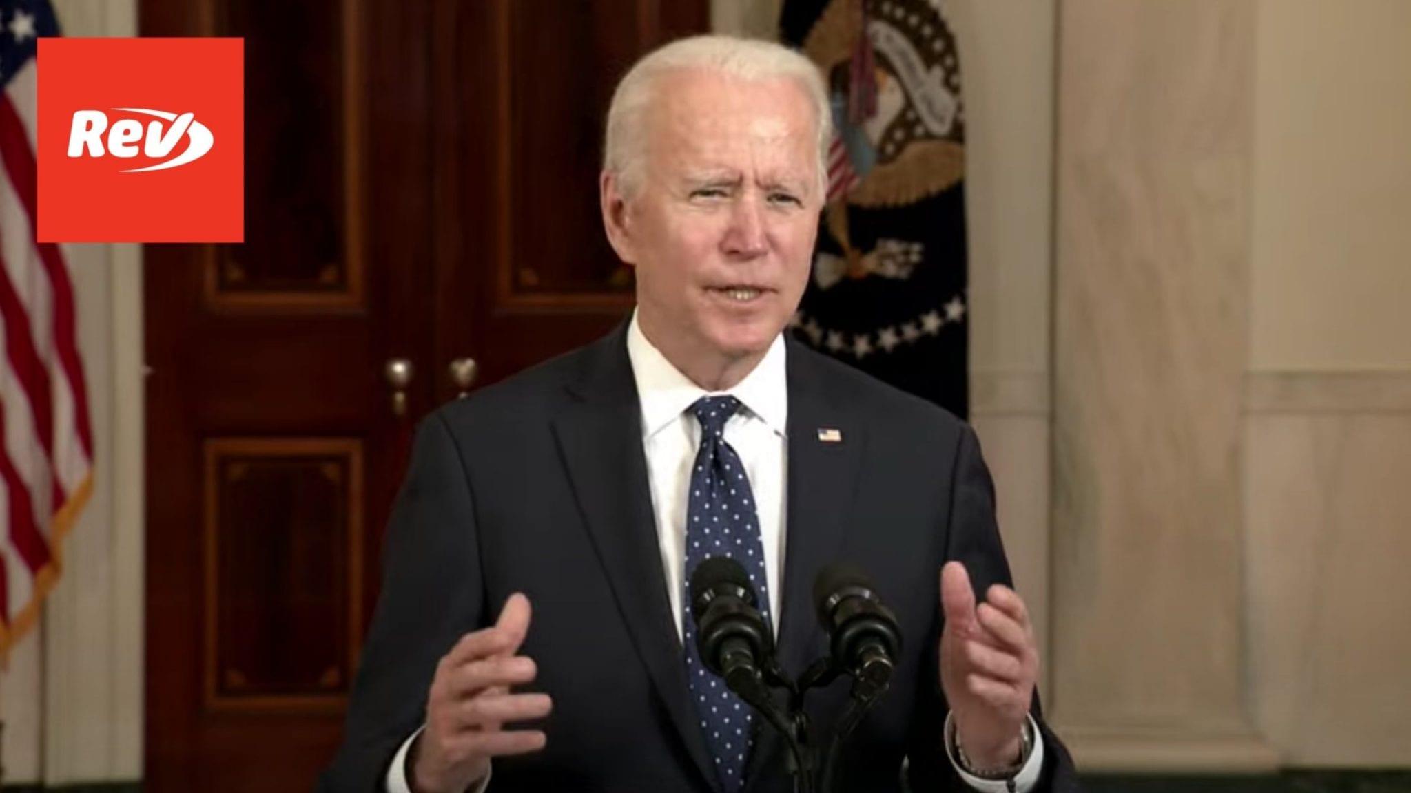 Joe Biden & Kamala Harris Speech After Chauvin Verdict Transcript April 20