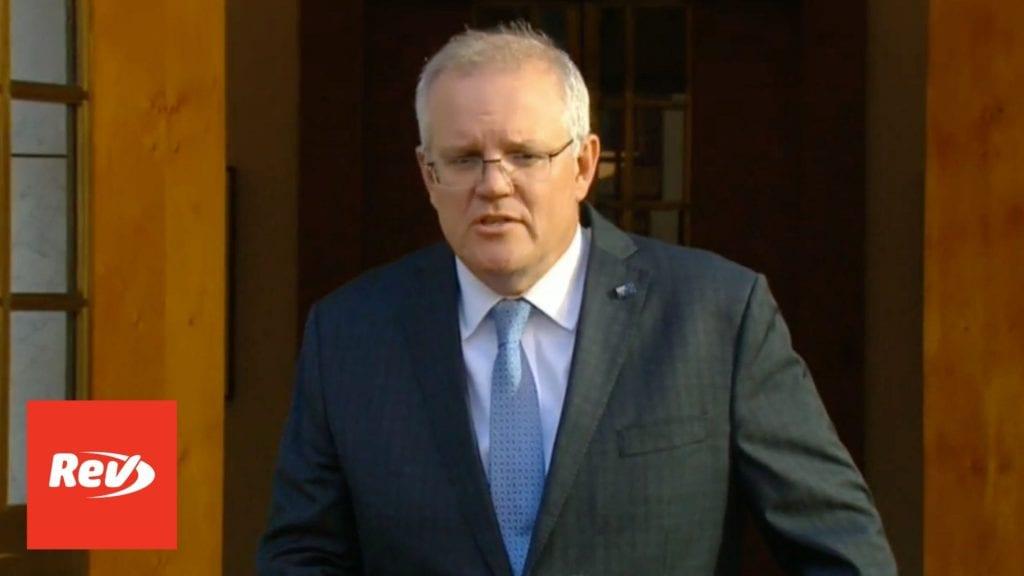 Scott Morrison Australia COVID-19 Press Conference Transcript April 6