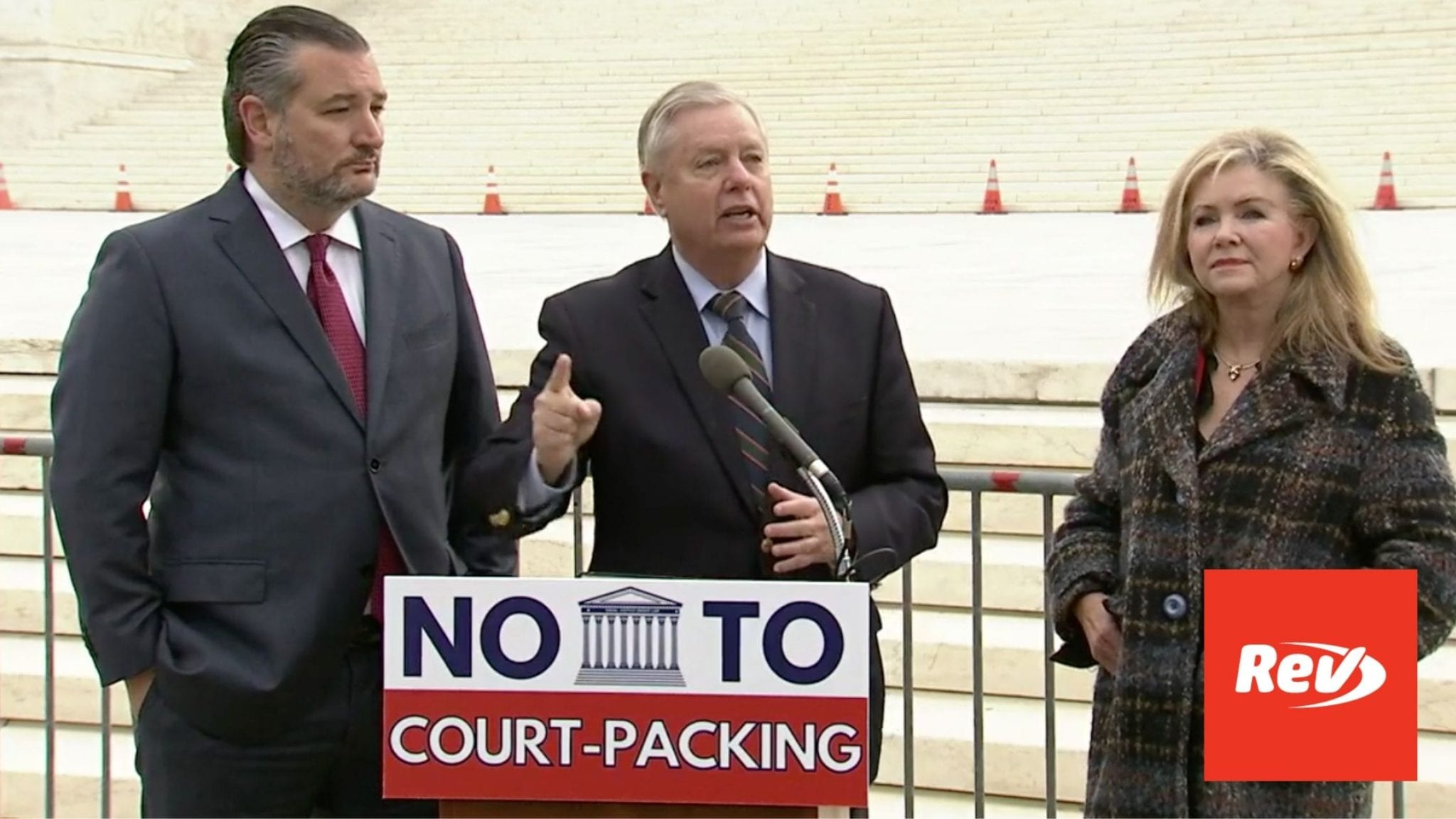 Ted Cruz, Lindsey Graham Press Conference on Supreme Court Expansion Transcript April 22