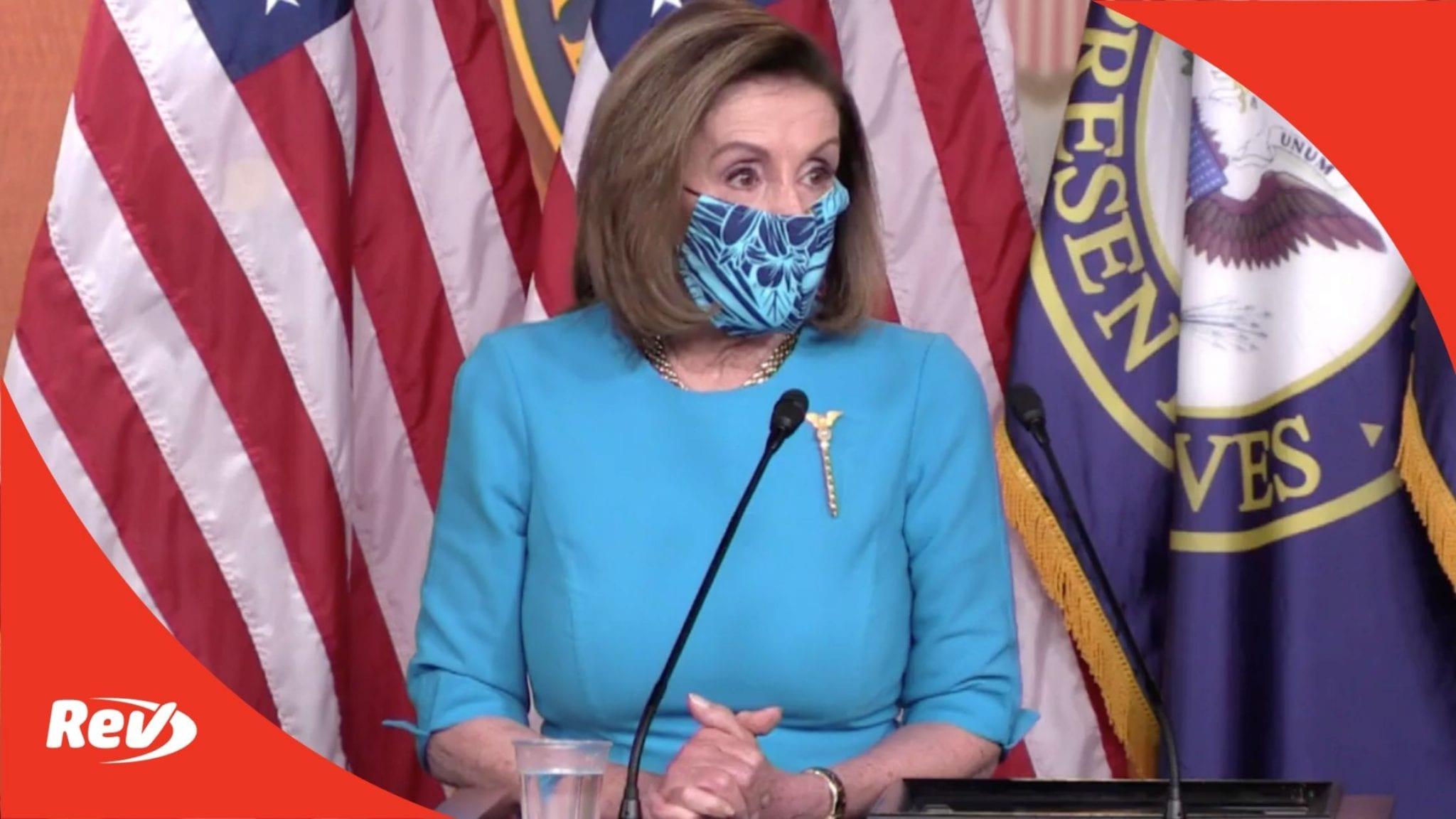 House Speaker Nancy Pelosi Weekly Press Conference Transcript April 22